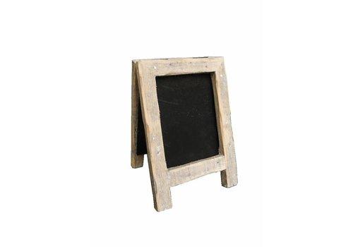 Krijtbord houder hout