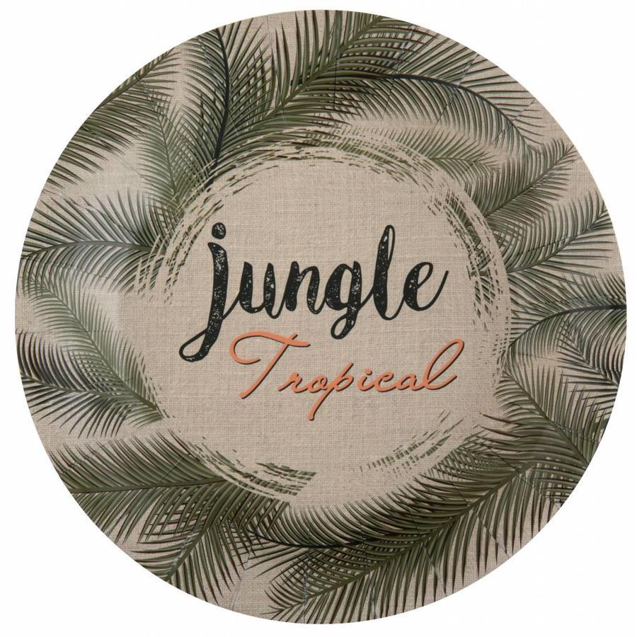 Bordje jungle (10 stuks)