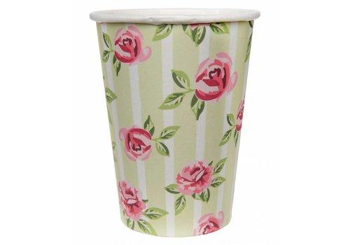 Bekertje roos (10 stuks)