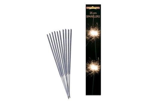 Vuurwerk sterretjes (8 stuks)