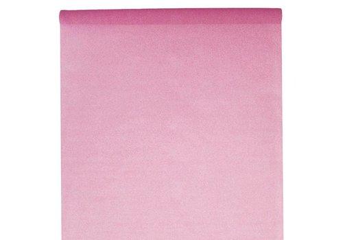 Tafelkleed papier roze (10 meter)