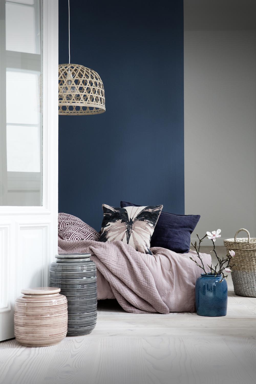 Wonderbaarlijk Blauwe kleuraccenten in jouw interieur. Drie tips om blauw mooi XP-59