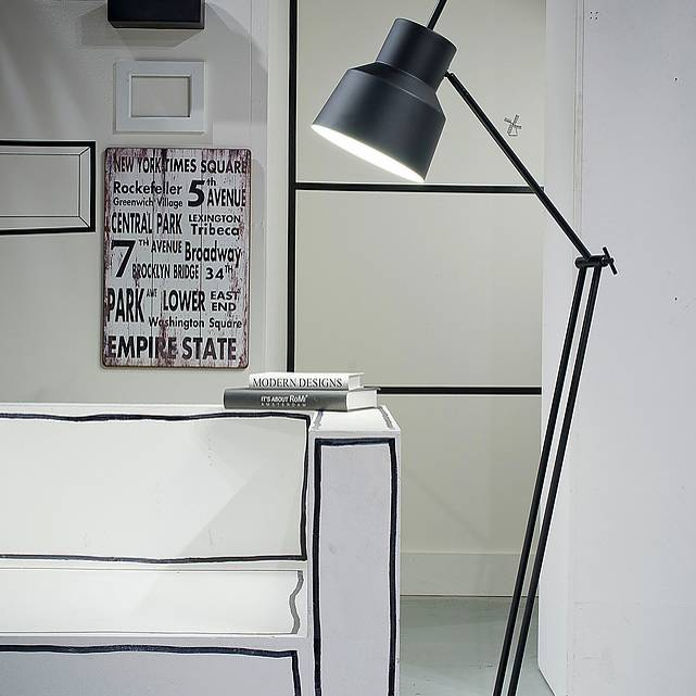 Its About Romi Lampen. Its About Romi Belfast Vloerlamp Zwart With ...