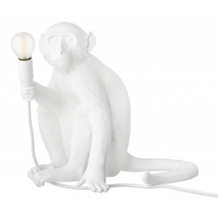 Seletti Monkey lamp sitting