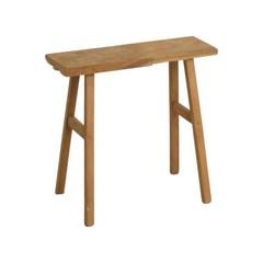 teak houten bank