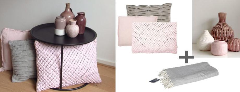 (Oud) Roze en paars als accentkleur in je interieur