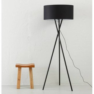 It's about RoMi Its About Romi Vloerlamp Hampton zwart