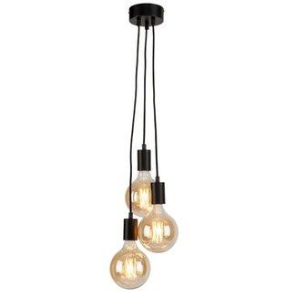 It's about RoMi Zwarte plafondlamp Oslo 3