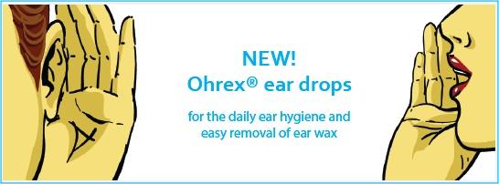 Ohrex ear wax removal