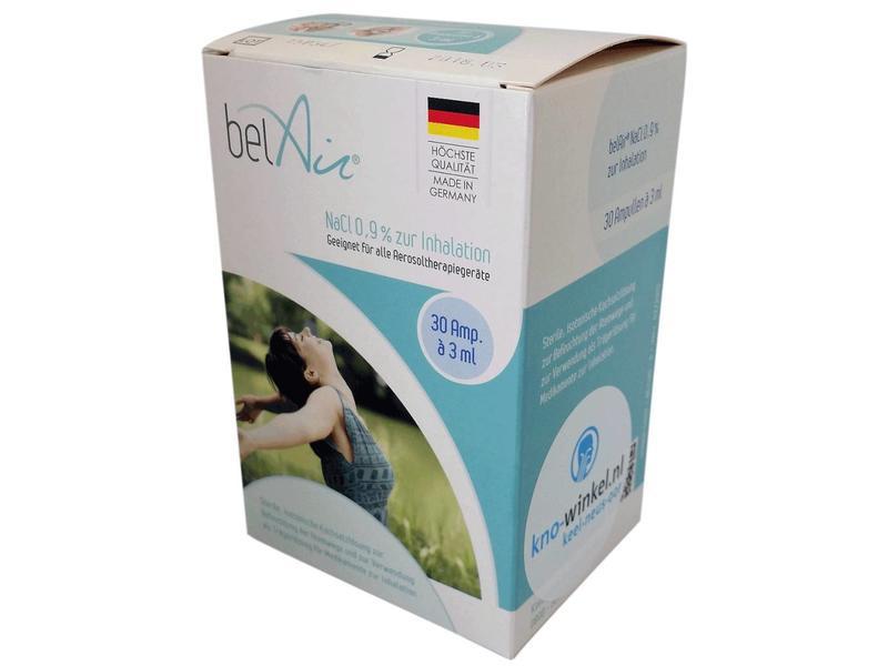 Sterile saline solution for VocalOne or Cordam-V