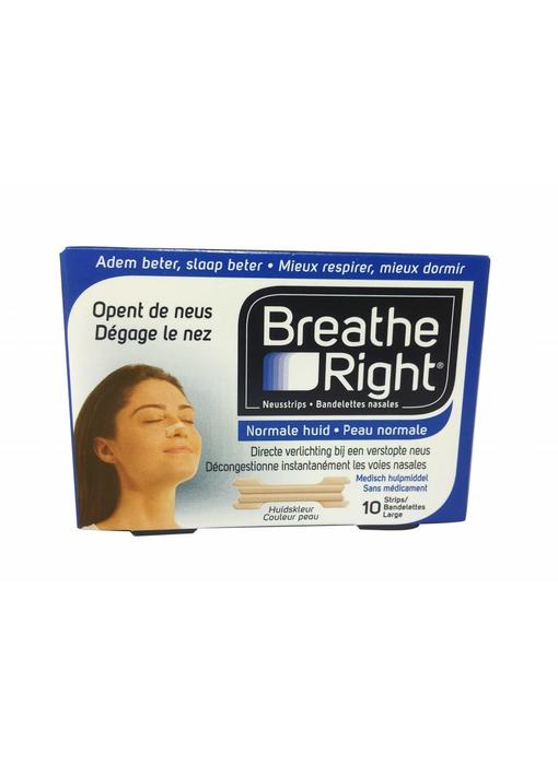 Breathe Right large 10 stuks