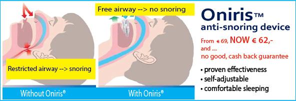 Oniris - MRA, anti-snoring