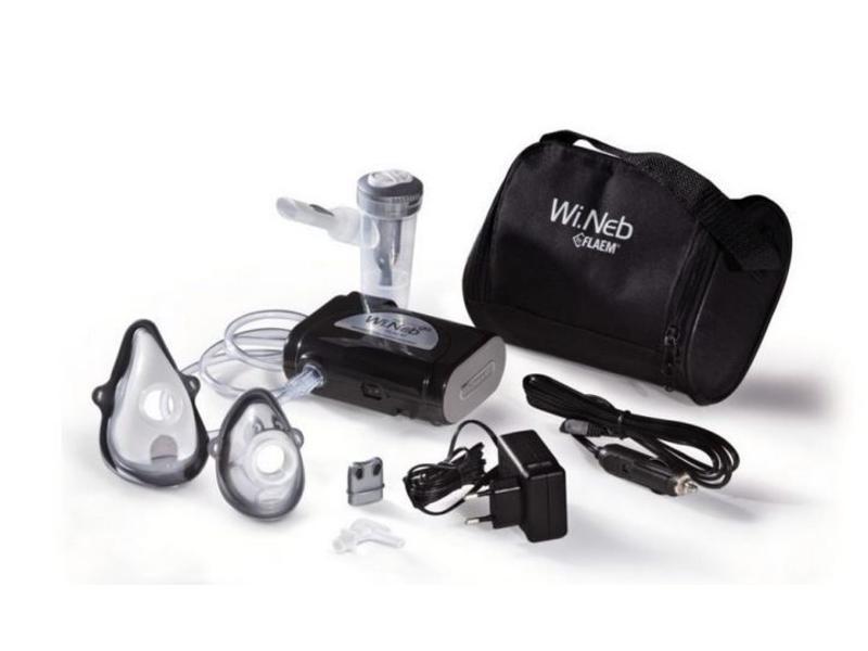 Wineb-Go black portable compressor