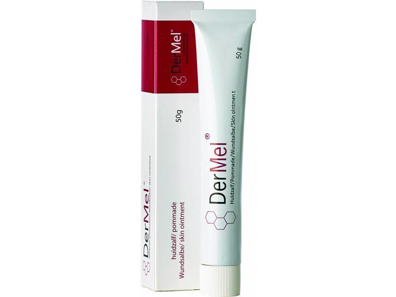 DerMel® medicinale honingzalf - uitsluitend nog  verkrijgbaar via www.dermatologie-winkel.nl