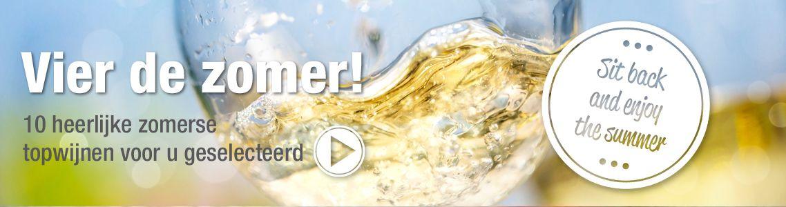 Vier de zomer - 10 heerlijke zomerse wijnen!