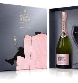 Charles Heidsieck Rosé Réserve geschenkset