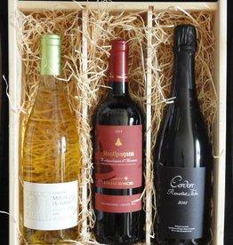 Wijnpakket Biologisch smullen