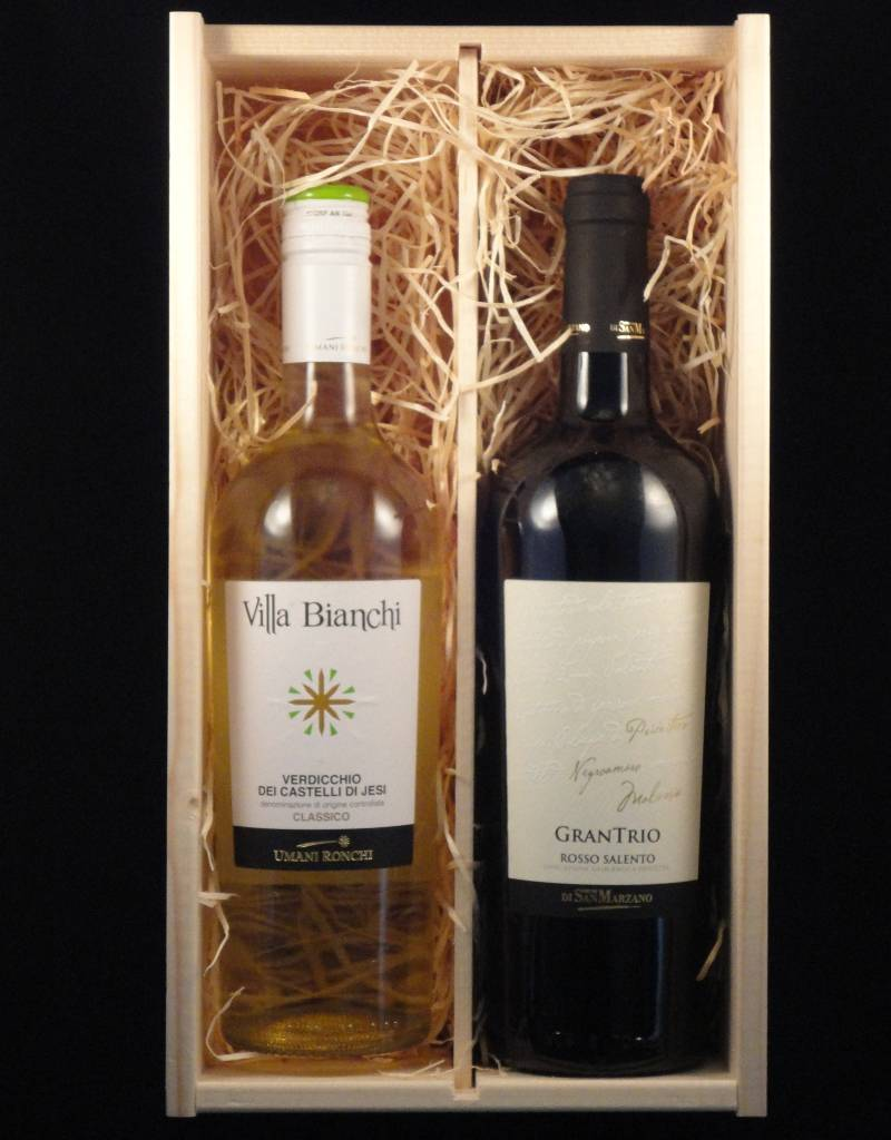 Wijnpakket Zonnig Italië