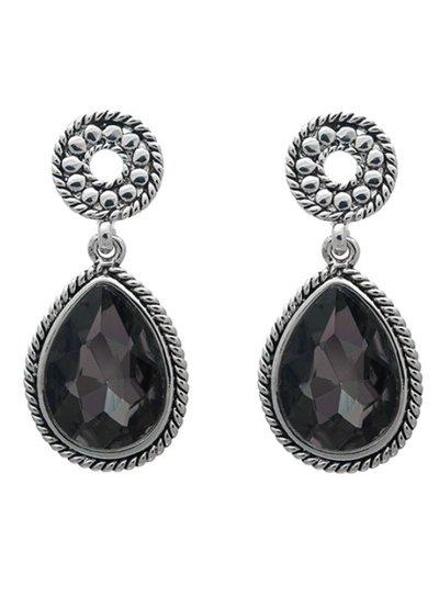 Oorbel Black Diamond Classy
