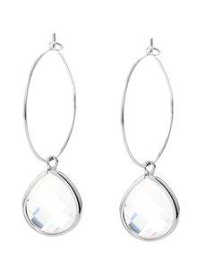 Oorbel Viva White Opal