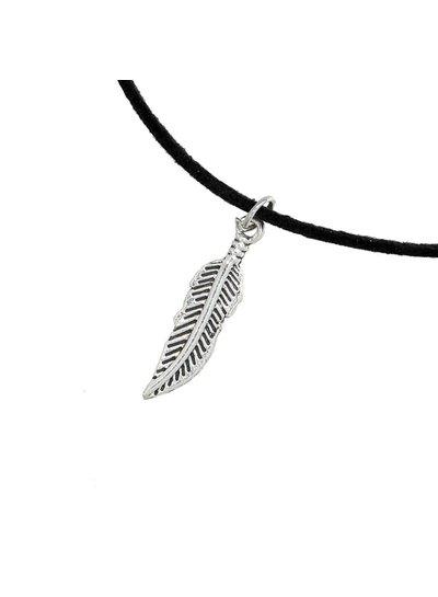 Choker Feather Black