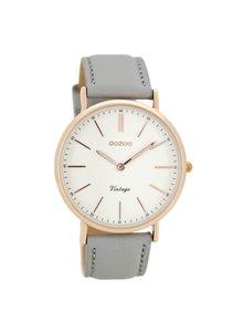 OZOO Horloge Grijs/Wit/Rose