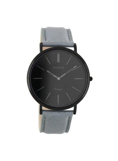 OOZOO Horloge Grijs/zwart
