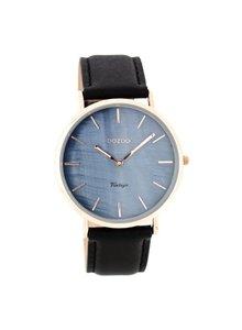 OZOO Horloge Black Pearl