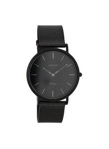 OZOO Horloge Zwart