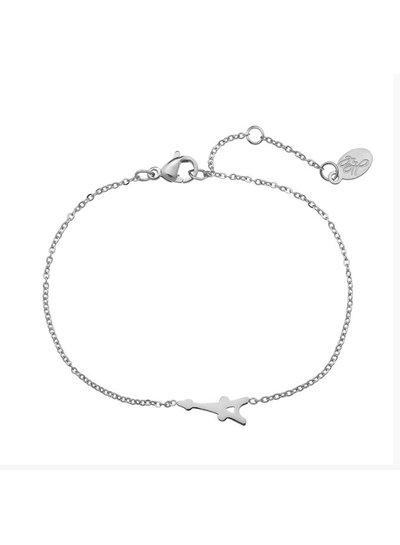 Armband Eiffel Tower Zilver
