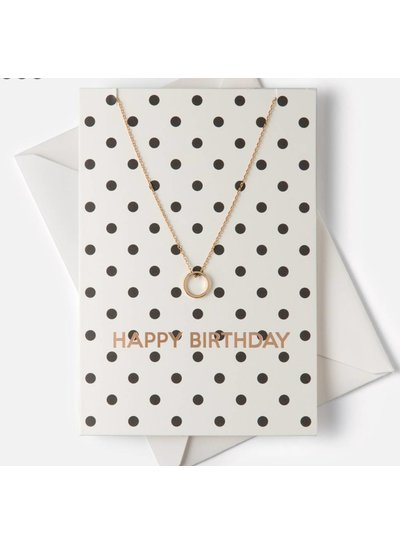 Monochome 'Happy Birthday' Giftcard
