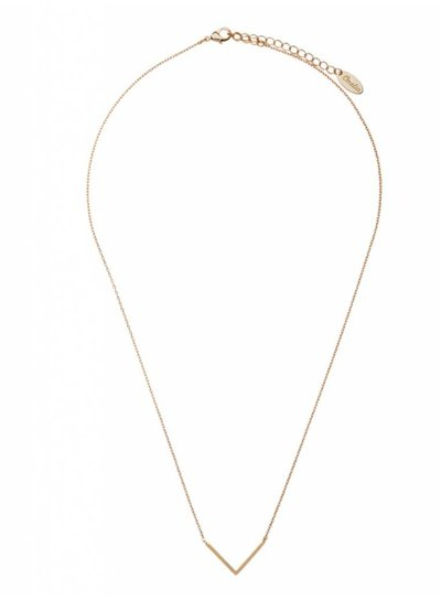 Clean V Necklace