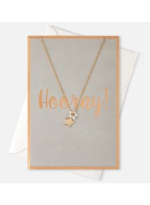 Hooray Double Star Giftcard