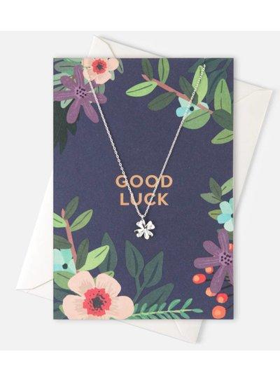 Good Luck Giftcard Klavertje 4