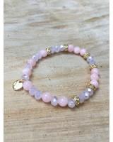 Biba kids Biba kralen armbandje roze