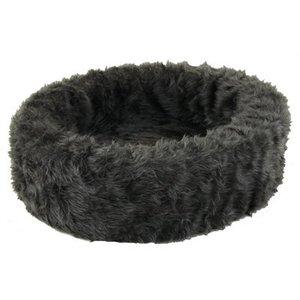 Petcomfort Petcomfort hondenmand bont grijs