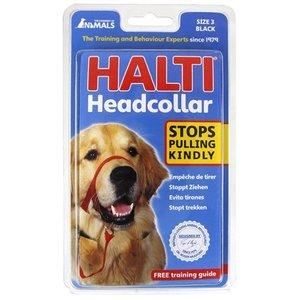 The company of animals Halti headcollar zwart