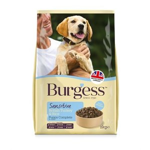 Burgess Burgess dog sensitive puppy kalkoen / rijst