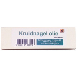 Dierendrogist Dierendrogist kruidnagel olie