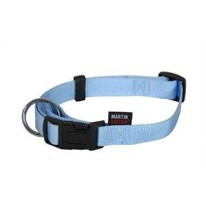Martin sellier Martin sellier halsband basic nylon blauw