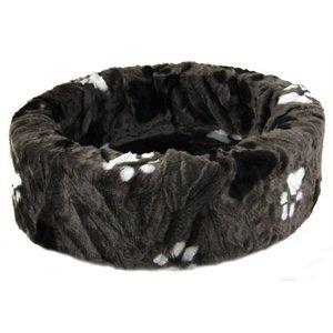 Petcomfort Petcomfort hondenmand bont grijs grote poot