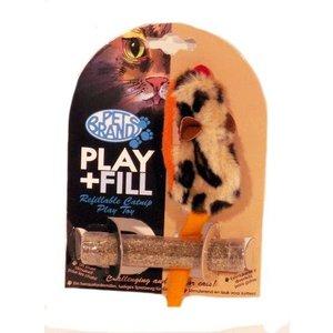 Petbrands Petbrands speelmuis met catnip hervulbaar