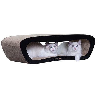 Canadiancat company Canadiancat company krabplank orbit zwart / wit