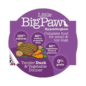 Little big paw 7x little big paw malse eend / groenten dinner