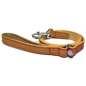 Rosewood Luxury leather lijn hond leer luxe zand