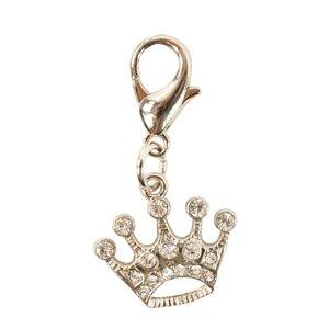 Buster & beau Buster & beau diamante bedel kroon met steentjes