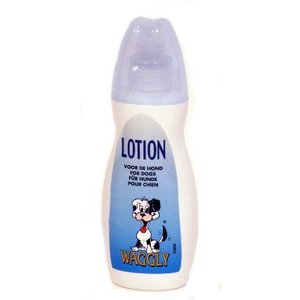 Waggly Waggly lotion hond