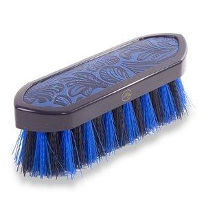 Hb ruitersport Hb borstel vintage leather look dandy blauw