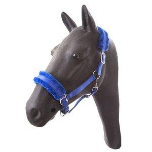 Hb ruitersport Hb halster full teddy royal blue