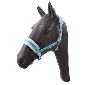 Hb ruitersport Hb glamour halster pony lichtblauw